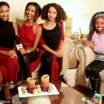 Thandi Chirwa interviewing The EriAm Sisters