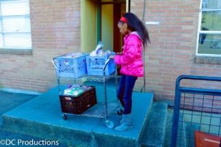 Thandi Chirwa - Food drive for the homeless