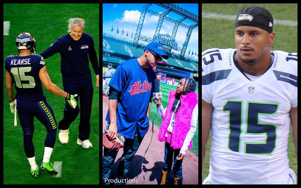 Thandi ChThandi Chirwa interviews Seattle Seahwaks Wide receiver, Jermaine Kearse